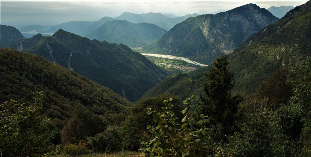 Valle del Tagliamento dalla Val Venzonassa (FOTO: S. Famiani - diritti riservati)