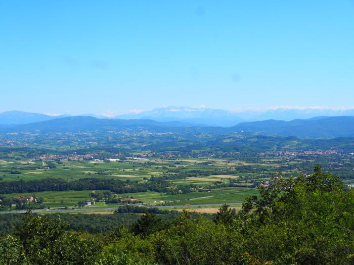 Vista dal Monte San Michele